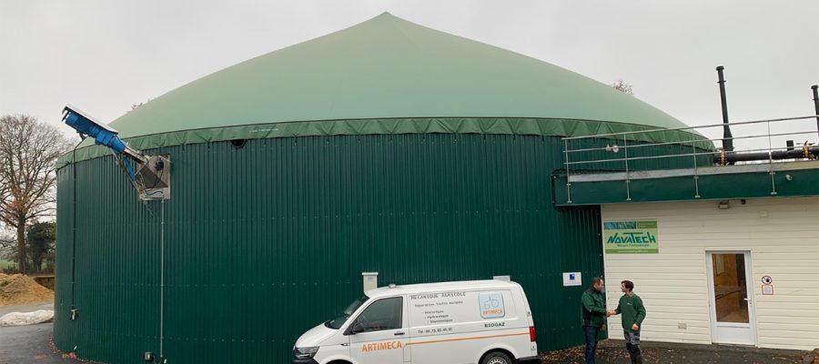 Méthanisation biogaz Artimeca