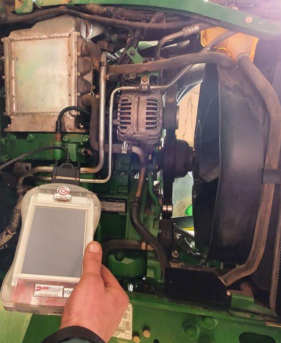 Cartographie moteur tracteur
