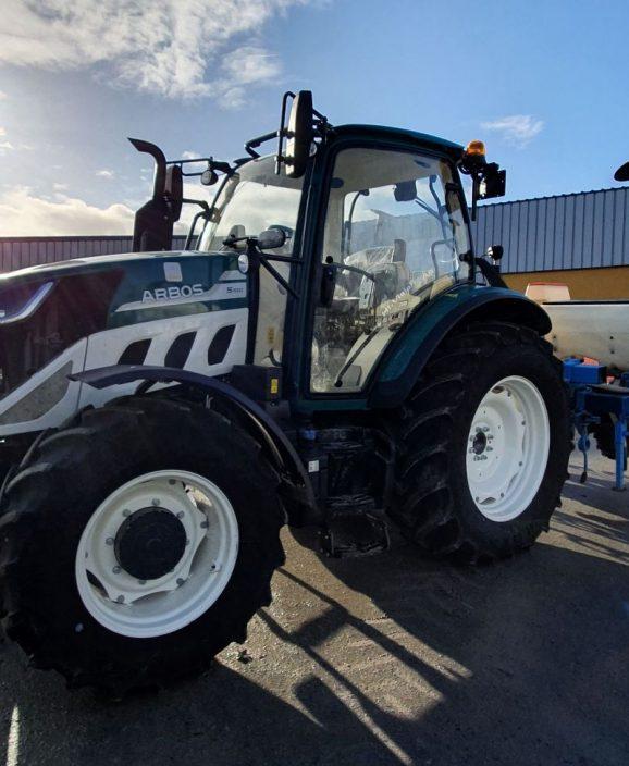 Tracteur Arbos Artimeca